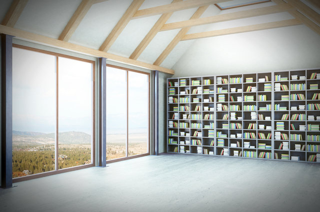Loft library image by Who Is Danny? (via Shutterstock).